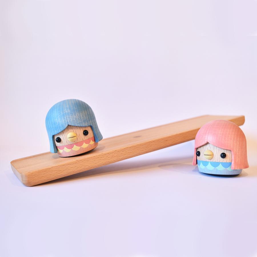 こまむぐ公式・限定商品 アマビエどんぐり 木のおもちゃ 日本製 知育 木育 疫病退散 どんぐりころころ |comomg|02