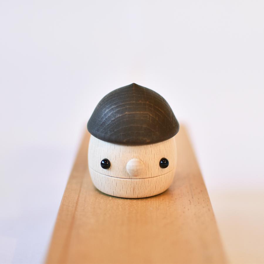 こまむぐ公式 どんぐりころころ 木のおもちゃ 国産 知育 木育 日本製 出産祝い|comomg|02