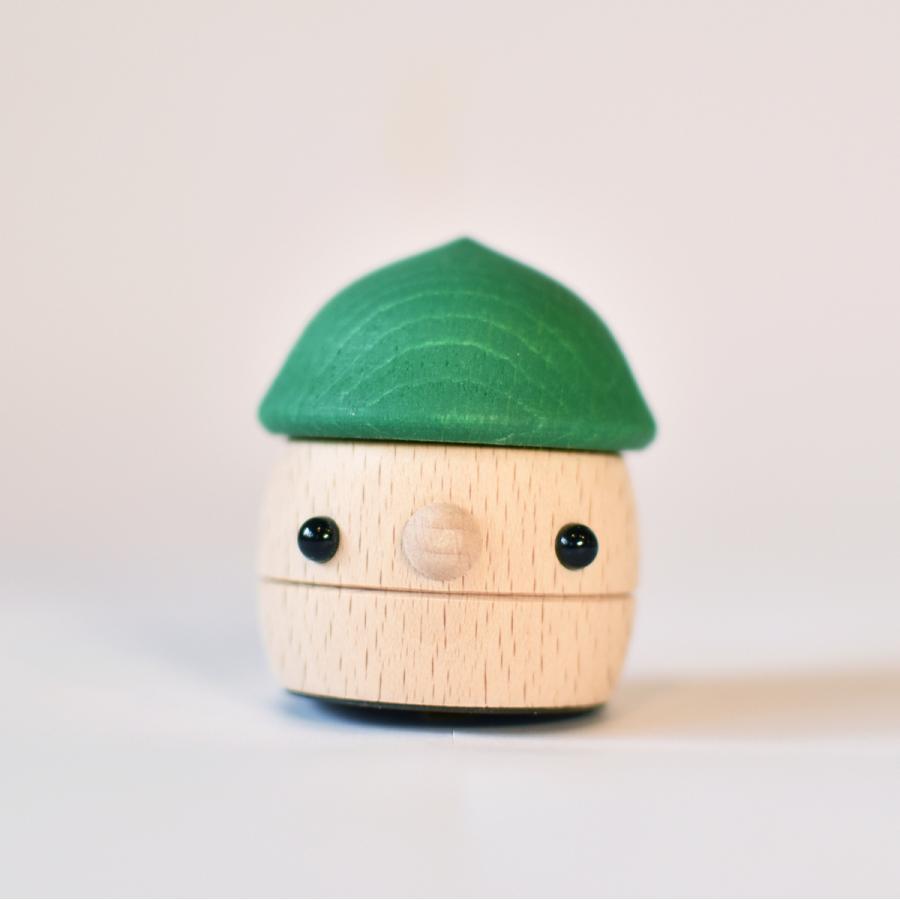 こまむぐ公式 どんぐりころころ 木のおもちゃ 国産 知育 木育 日本製 出産祝い|comomg|17