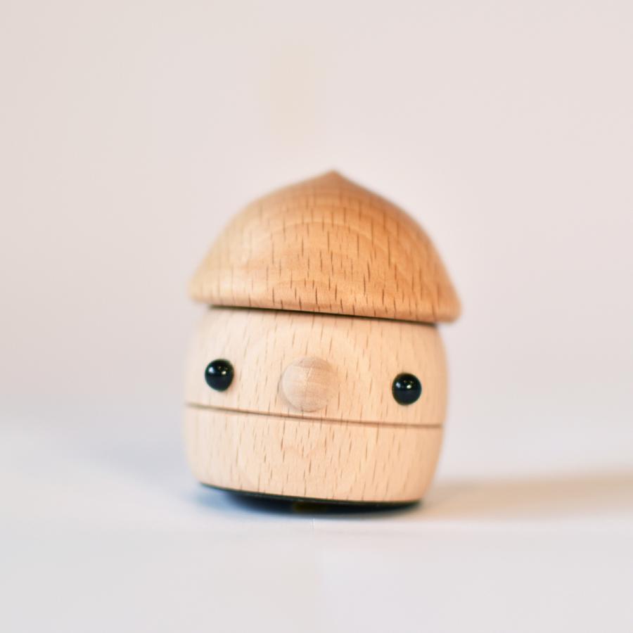 こまむぐ公式 どんぐりころころ 木のおもちゃ 国産 知育 木育 日本製 出産祝い|comomg|18