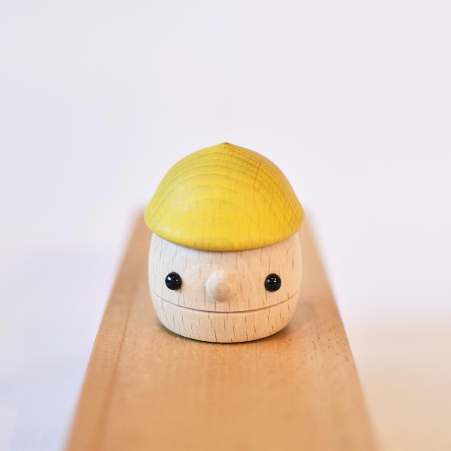 こまむぐ公式 どんぐりころころ 木のおもちゃ 国産 知育 木育 日本製 出産祝い|comomg|03