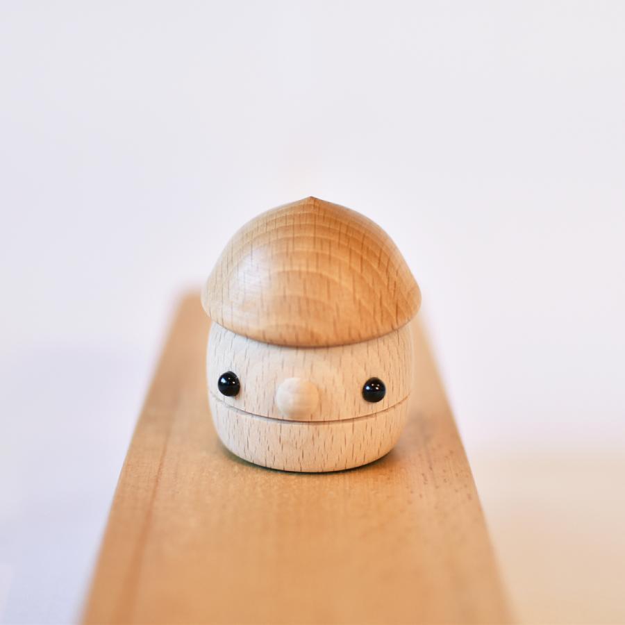 こまむぐ公式 どんぐりころころ 木のおもちゃ 国産 知育 木育 日本製 出産祝い|comomg|06