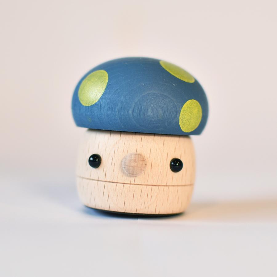 こまむぐ公式 どんぐりきのこ 木のおもちゃ 国産 知育 木育 ベビートイ  comomg 15