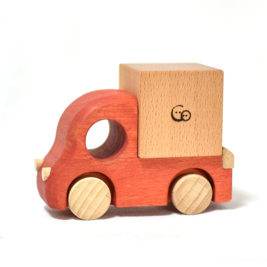 こまむぐ公式 Tuminyセット 木のおもちゃ 日本製 知育 木育 木のトラック comomg 02