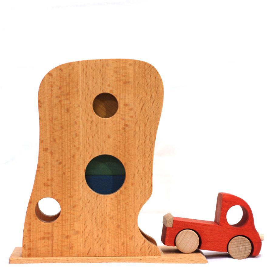 こまむぐ公式 Tuminyセット 木のおもちゃ 日本製 知育 木育 木のトラック comomg 03