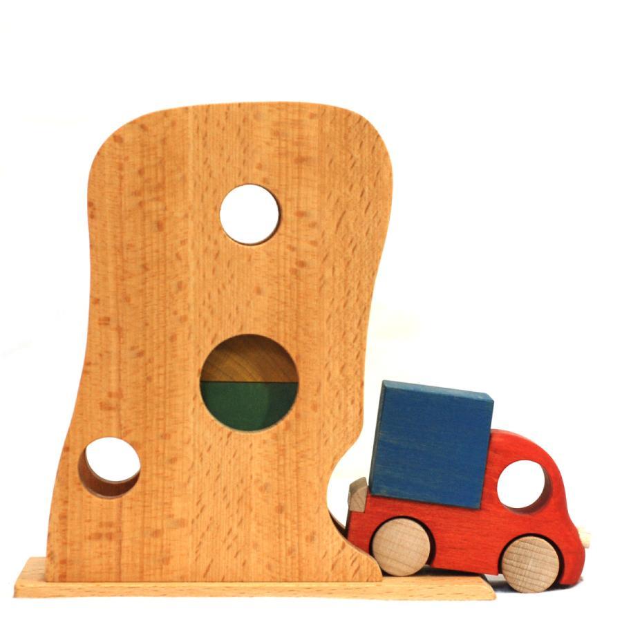 こまむぐ公式 Tuminyセット 木のおもちゃ 日本製 知育 木育 木のトラック comomg 05
