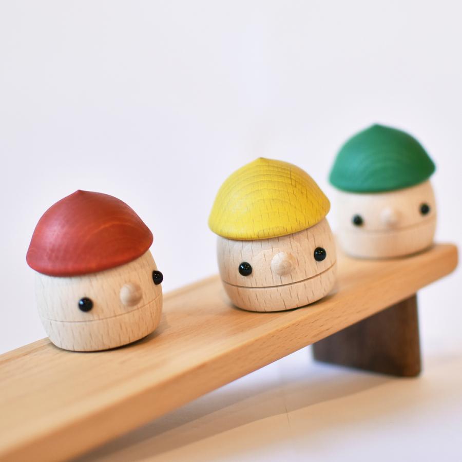こまむぐ公式 どんぐりセット 木のおもちゃ 国産 知育 木育 出産祝い どんぐりころころ comomg