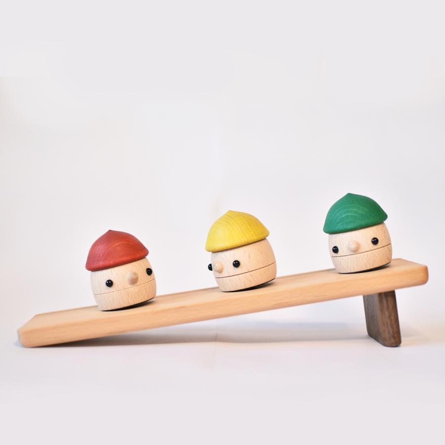 こまむぐ公式 どんぐりセット 木のおもちゃ 国産 知育 木育 出産祝い どんぐりころころ comomg 12