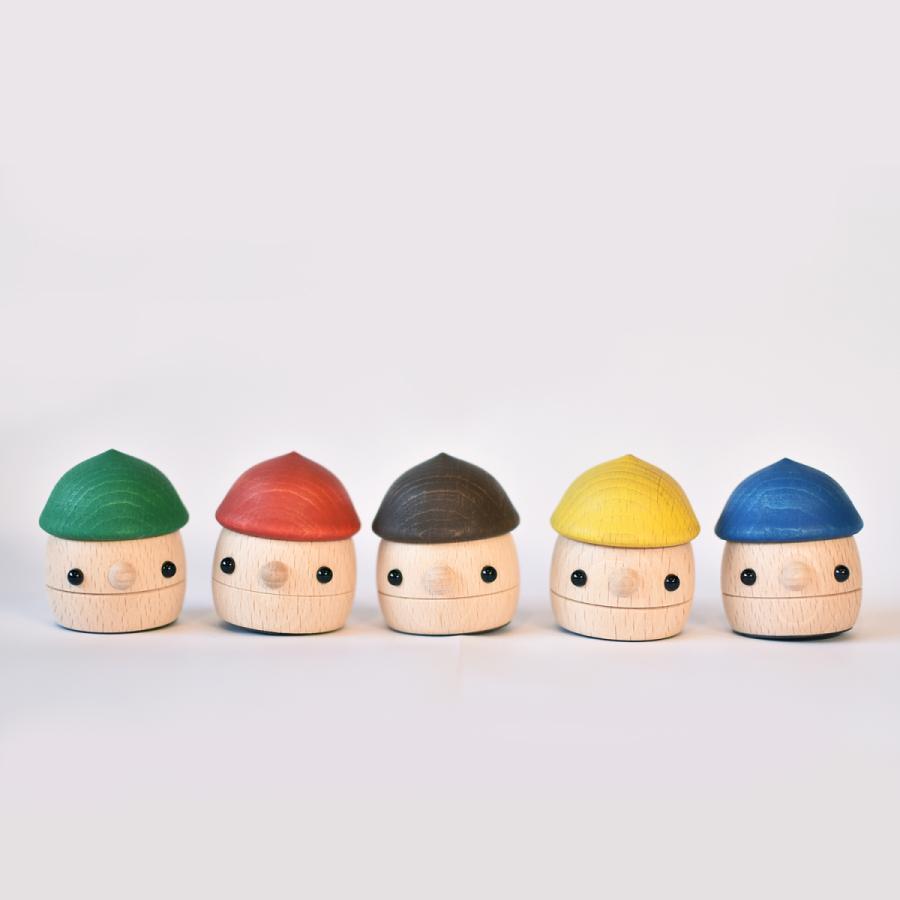 こまむぐ公式 どんぐりセット 木のおもちゃ 国産 知育 木育 出産祝い どんぐりころころ comomg 03