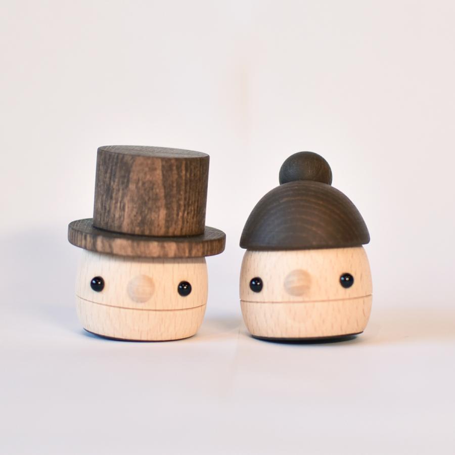 こまむぐ公式 どんぐりぱぱ・ままセット 木のおもちゃ 日本製 知育 木育 どんぐりころころ ギフトセット|comomg|03
