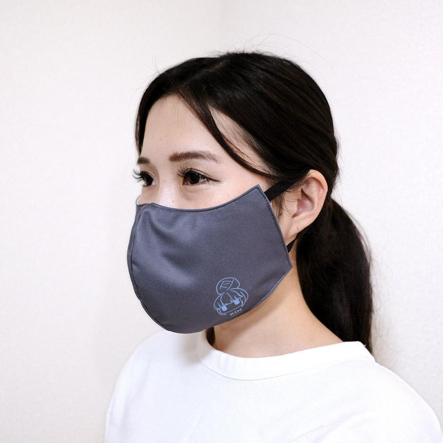 ゆるキャン△ グッズ ファッションマスク ワンポイントVer. リン・なでしこ|con-para|02