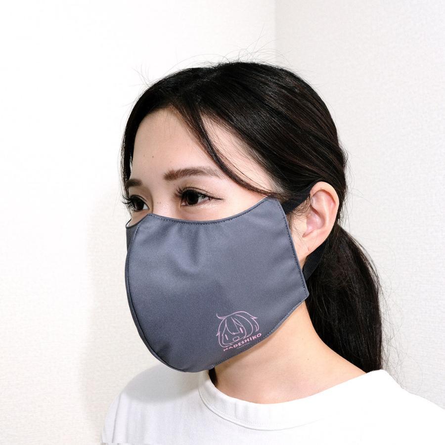 ゆるキャン△ グッズ ファッションマスク ワンポイントVer. リン・なでしこ|con-para|03