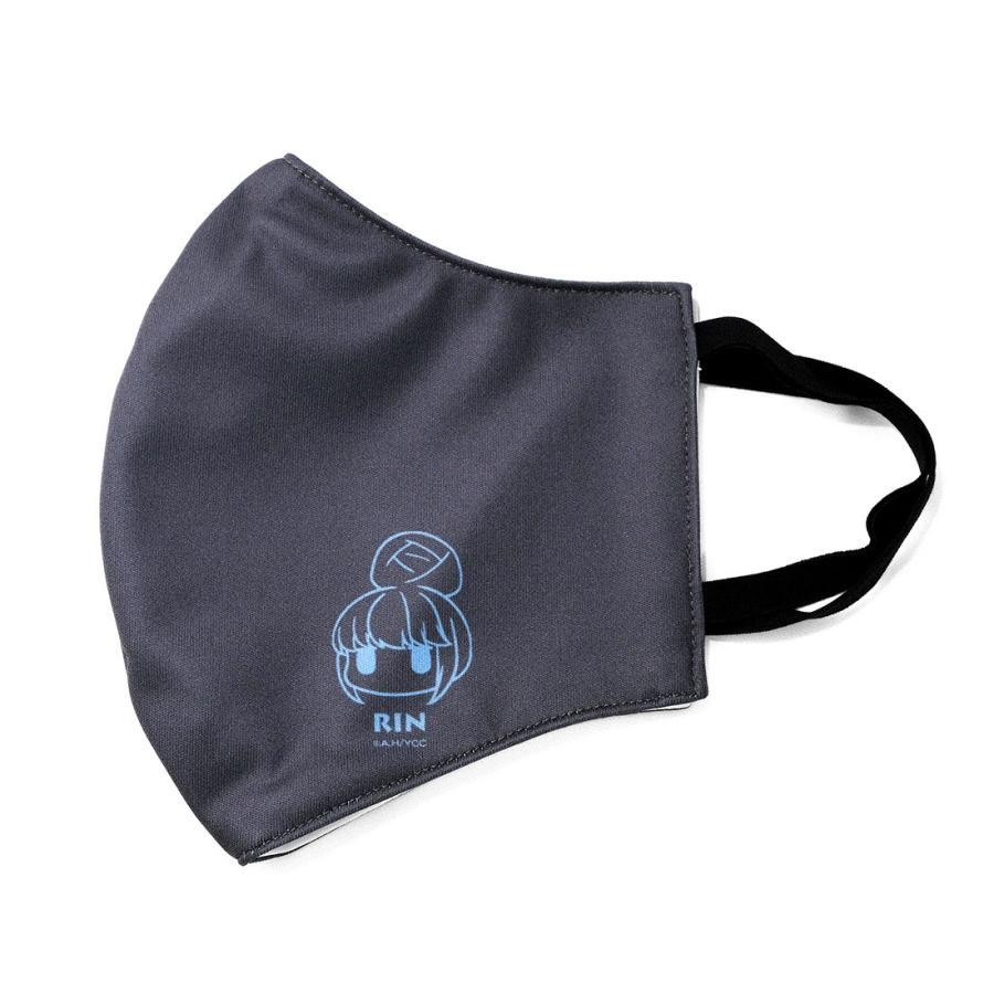 ゆるキャン△ グッズ ファッションマスク ワンポイントVer. リン・なでしこ|con-para|05