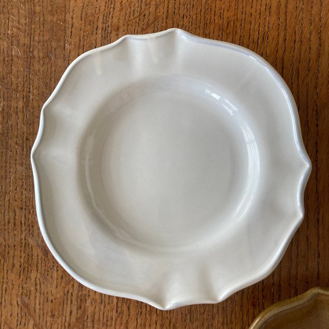 サイドプレート スタジオエム 花びら パンプレート スタジオM' 食器 皿  ケーキプレート 取り皿 日本製 陶器 conceptstore 04