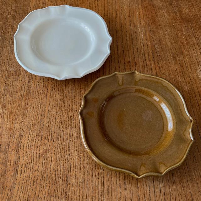 サイドプレート スタジオエム 花びら パンプレート スタジオM' 食器 皿  ケーキプレート 取り皿 日本製 陶器 conceptstore 02