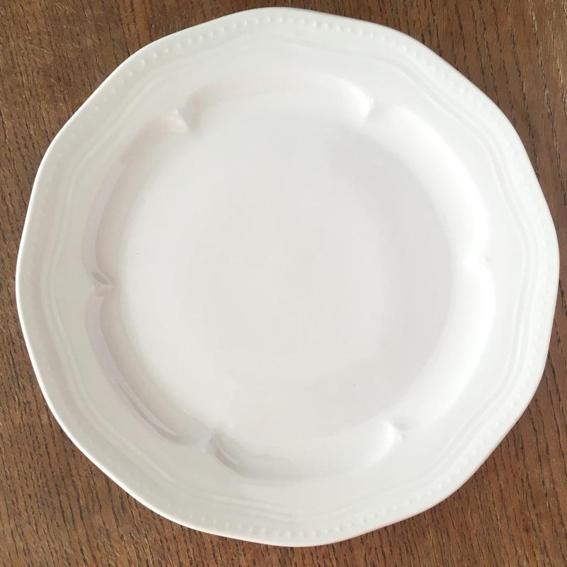 ディナープレート マティネ ラウンド 23.5cm ブラン(白)/グリズ(グレー)/ミント スタジオM' 食器 スタジオエム 大皿 ケーキプレート 日本製 陶器 conceptstore 02