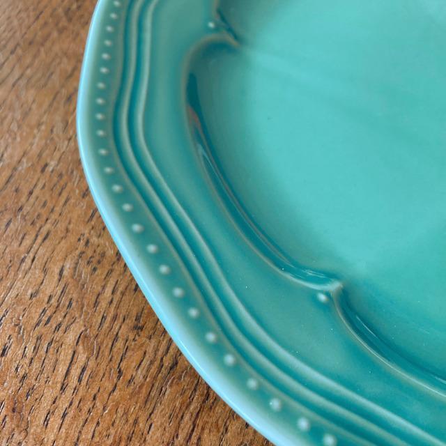 ディナープレート マティネ ラウンド 23.5cm ブラン(白)/グリズ(グレー)/ミント スタジオM' 食器 スタジオエム 大皿 ケーキプレート 日本製 陶器 conceptstore 05