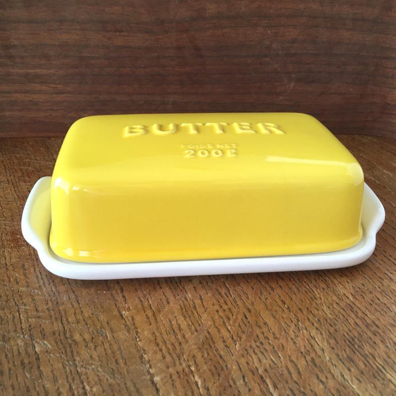 バターケース Arrondi アロンディ ホワイト/グレー/イエロー スタジオM' 食器 皿 スタジオエム 日本製 陶器|conceptstore|02