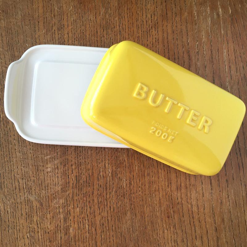バターケース Arrondi アロンディ ホワイト/グレー/イエロー スタジオM' 食器 皿 スタジオエム 日本製 陶器|conceptstore|03