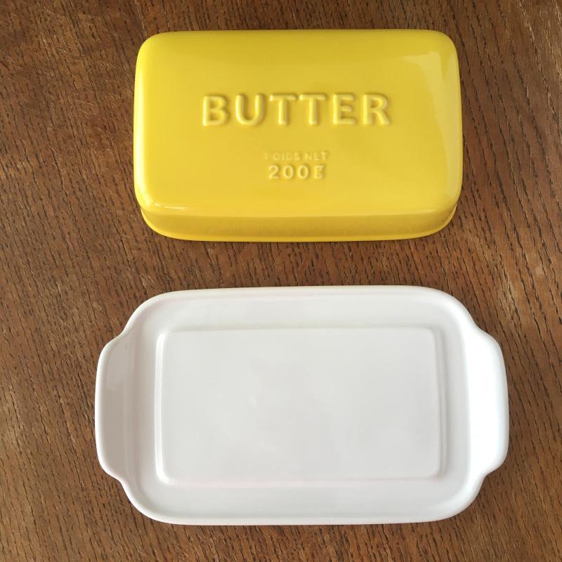 バターケース Arrondi アロンディ ホワイト/グレー/イエロー スタジオM' 食器 皿 スタジオエム 日本製 陶器|conceptstore|04
