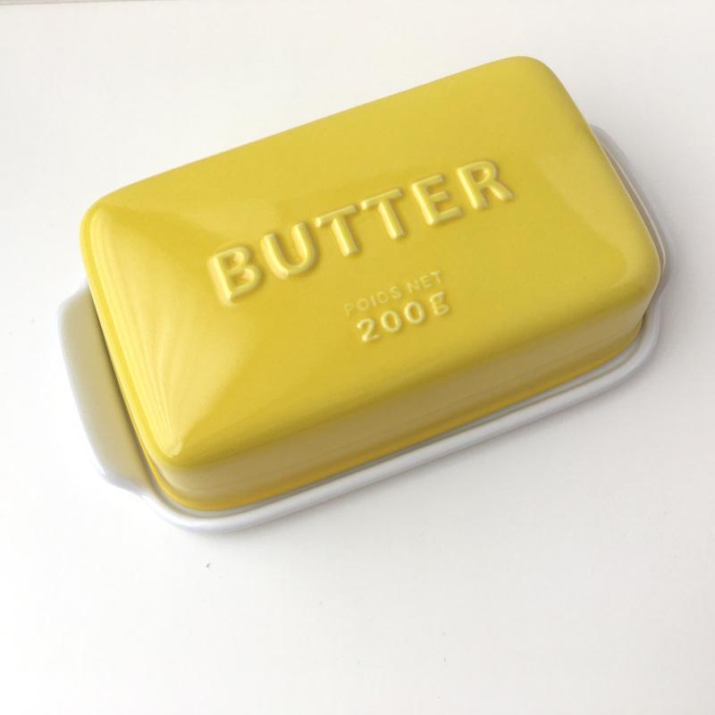 バターケース Arrondi アロンディ ホワイト/グレー/イエロー スタジオM' 食器 皿 スタジオエム 日本製 陶器|conceptstore|05