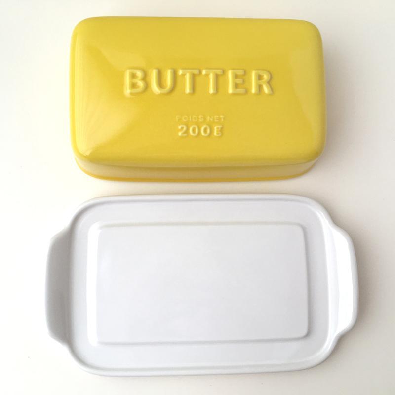 バターケース Arrondi アロンディ ホワイト/グレー/イエロー スタジオM' 食器 皿 スタジオエム 日本製 陶器|conceptstore|07
