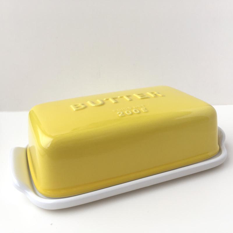 バターケース Arrondi アロンディ ホワイト/グレー/イエロー スタジオM' 食器 皿 スタジオエム 日本製 陶器|conceptstore|08