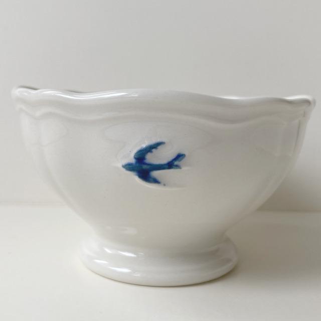 ボウル アーリーバード  ツバメ スタジオM' 食器 皿 スタジオエム フルーツボウル 小鳥 カフェオレボウル サラダボウル 日本製 陶器|conceptstore