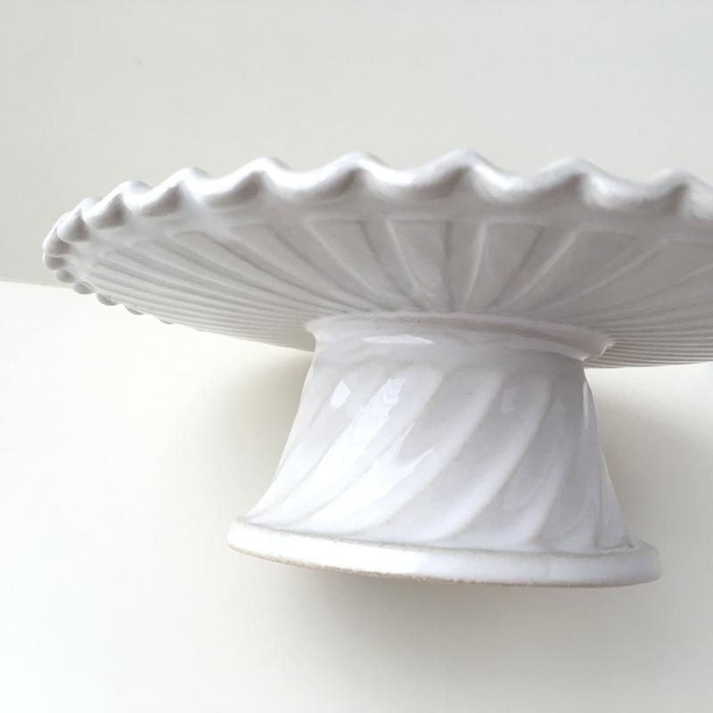 ケーキスタンド コンポート ビスキュイトリー スタジオM' 食器 皿 スタジオエム 白 ホワイト アフタヌーンティー 日本製 陶器|conceptstore|05