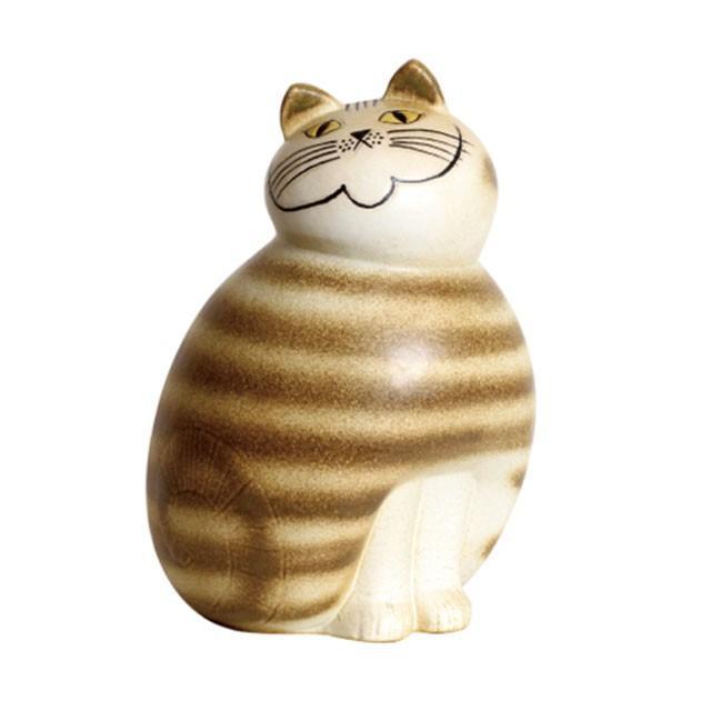 リサラーソン ミア マキシ ブラウン/グレー ねこ 猫 ネコ 北欧雑貨 lisa larson conceptstore 02