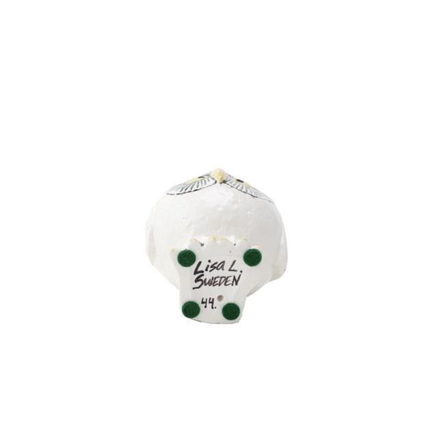 リサラーソン スウェーデンの森の白いふくろう フクロウ 陶器 置物 北欧雑貨 lisa larson conceptstore 03