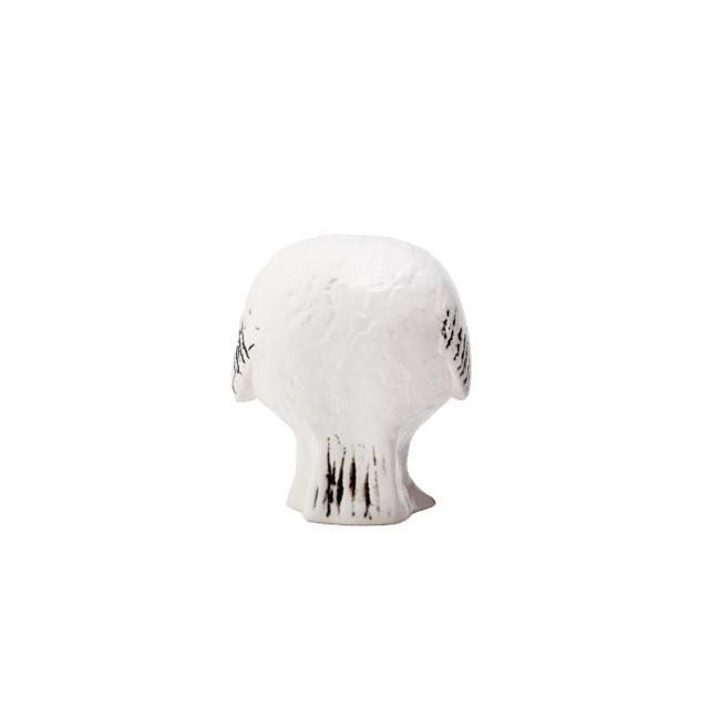 リサラーソン スウェーデンの森の白いふくろう フクロウ 陶器 置物 北欧雑貨 lisa larson conceptstore 06