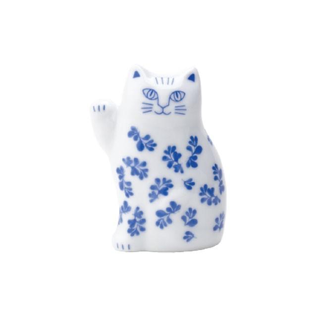 リサラーソン まねくねこのこ 招き猫  陶器 置物 ブルー/ピンク 波佐見焼 lisa larson|conceptstore|07