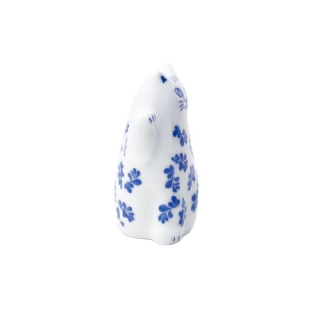 リサラーソン まねくねこのこ 招き猫  陶器 置物 ブルー/ピンク 波佐見焼 lisa larson|conceptstore|03