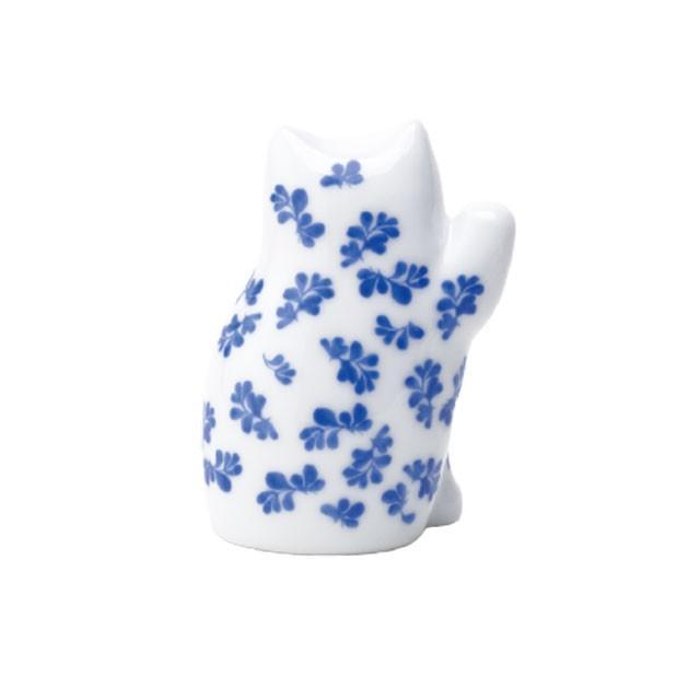 リサラーソン まねくねこのこ 招き猫  陶器 置物 ブルー/ピンク 波佐見焼 lisa larson|conceptstore|05