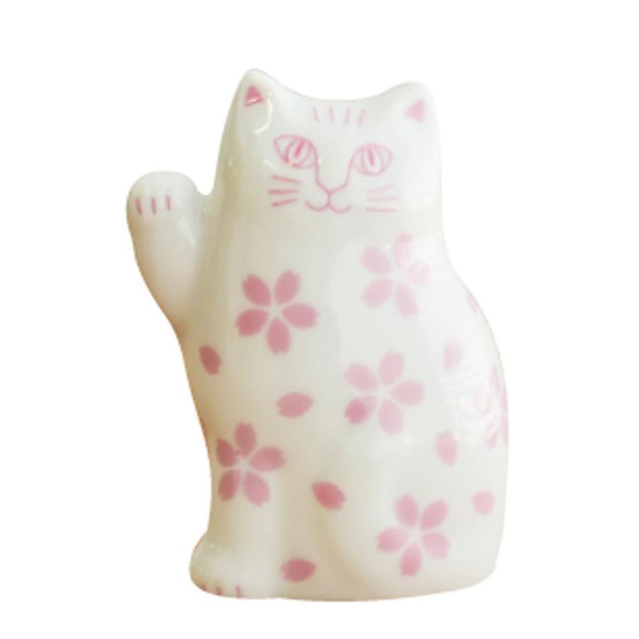 リサラーソン まねくねこのこ 招き猫  陶器 置物 ブルー/ピンク 波佐見焼 lisa larson|conceptstore|08