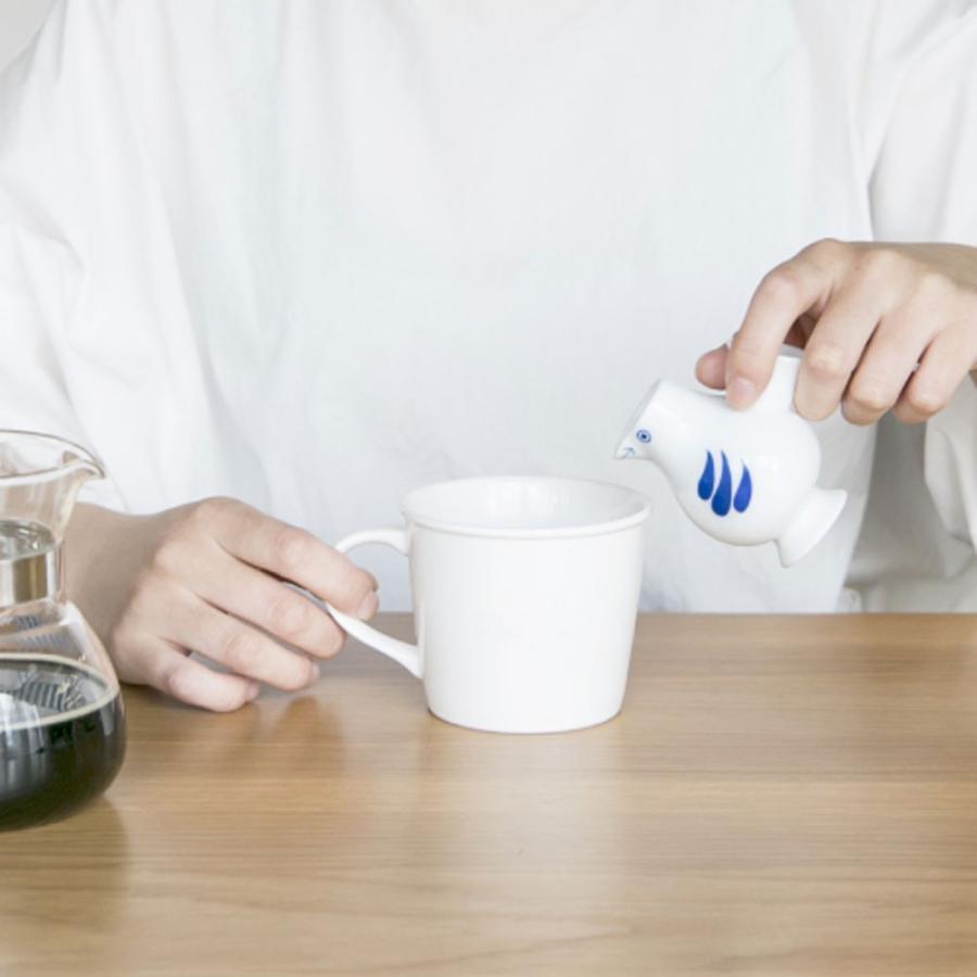 リサラーソン おさけことり 青/さくら 小鳥 ミルクピッチャー ミルクポット 一輪挿し 花瓶 波佐見焼  陶器製 lisa larson conceptstore 12