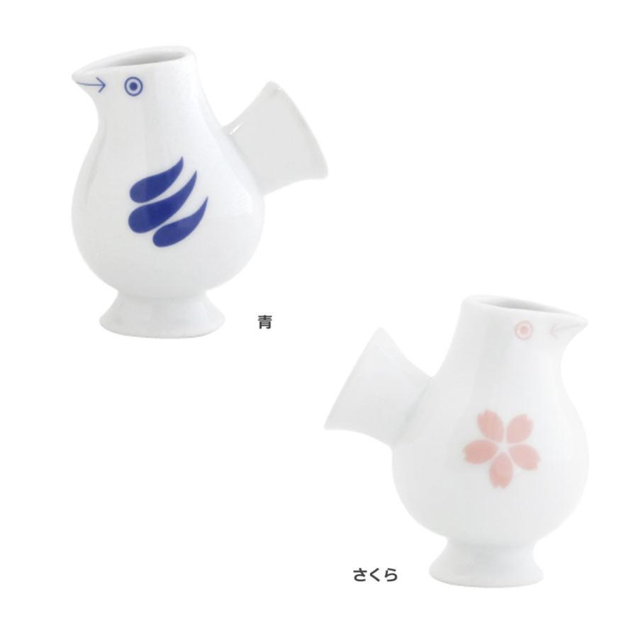 リサラーソン おさけことり 青/さくら 小鳥 ミルクピッチャー ミルクポット 一輪挿し 花瓶 波佐見焼  陶器製 lisa larson conceptstore 14