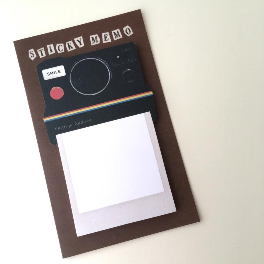 付箋 ポラロイドカメラ Sticky Memo ふせん インスタントカメラ 日本製|conceptstore