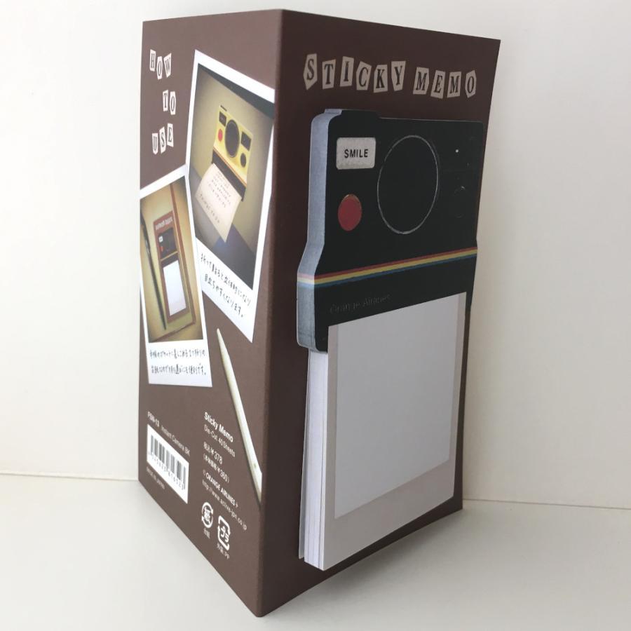 付箋 ポラロイドカメラ Sticky Memo ふせん インスタントカメラ 日本製|conceptstore|03