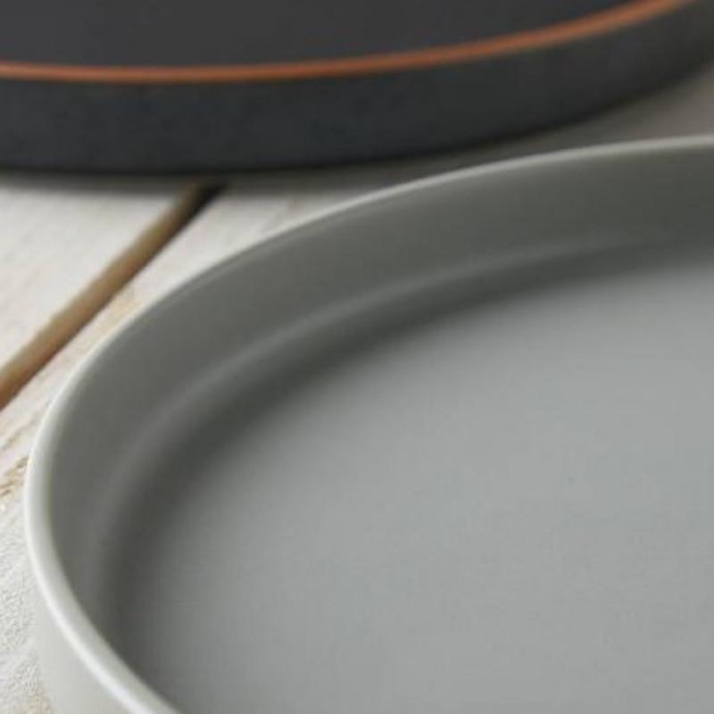 ディナープレート 東峰窯 Luca ルカ 24.5cm 切立プレート パーチ パスタ皿 ワンプレートランチ 日本製 磁器 美濃焼|conceptstore|04