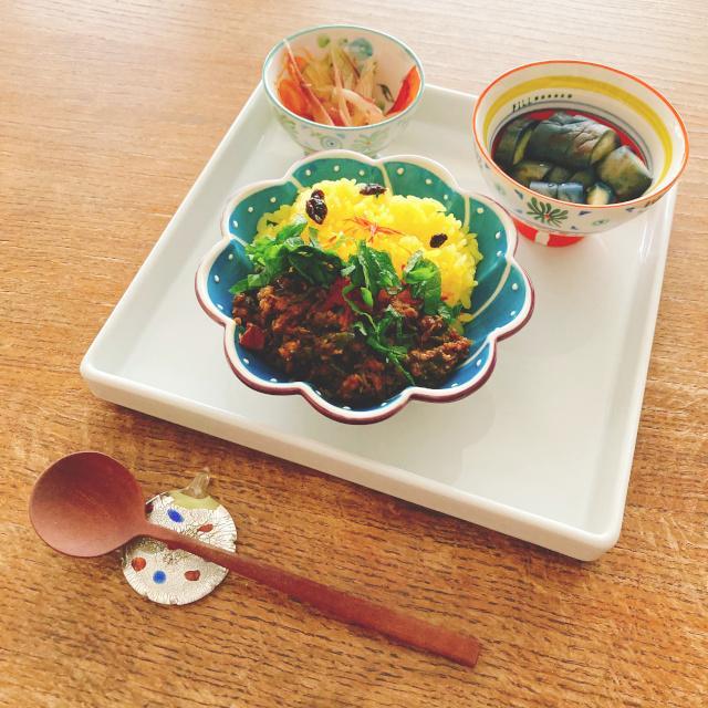 ディナープレート 妃白 21.5cm角 切立皿 美濃焼 パスタプレート 日本製 磁器 アウトレット|conceptstore