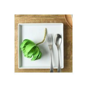 ディナープレート 妃白 21.5cm角 切立皿 美濃焼 パスタプレート 日本製 磁器 アウトレット|conceptstore|05