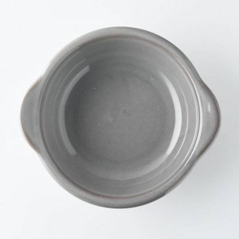 グラタン皿 サイドストリート ストームグレー 日本製 磁器 美濃焼 conceptstore 05