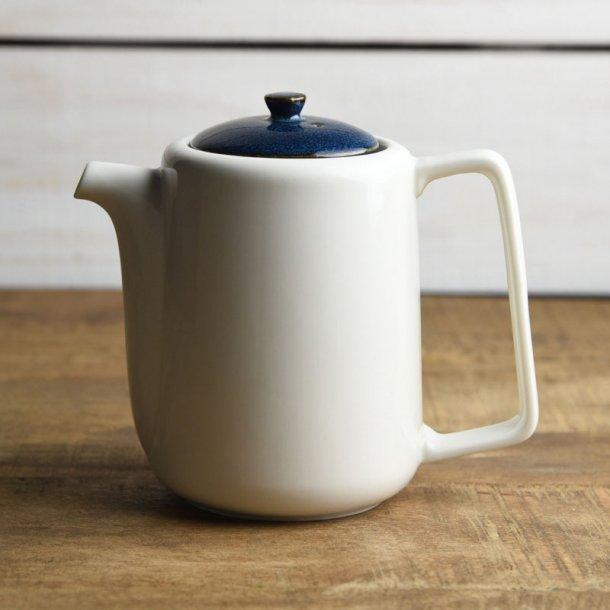 ティーポット 茶こし付き 北欧ブルー ネイビー 切立ちティーポット スーニャ型 コーヒーポット 日本製 美濃焼 conceptstore 02