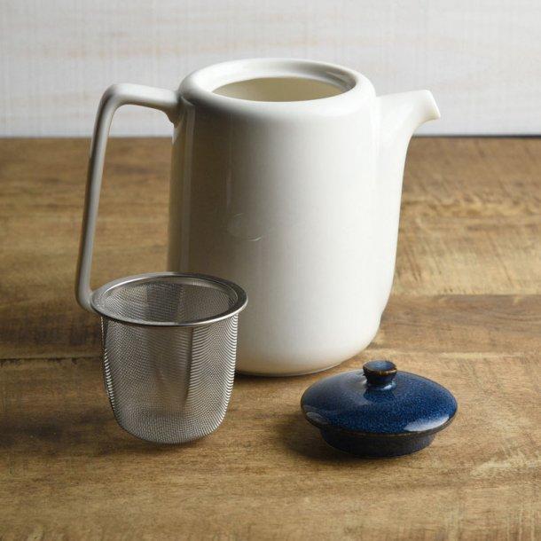 ティーポット 茶こし付き 北欧ブルー ネイビー 切立ちティーポット スーニャ型 コーヒーポット 日本製 美濃焼 conceptstore 04