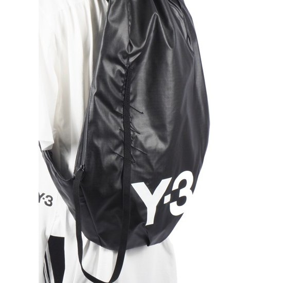 0d92ca3eff6a ... 2019ss Y-3 ワイスリー YOHJI YAMAMOTO DY0517 Y-3 Yohji II Backpack バックパック ...