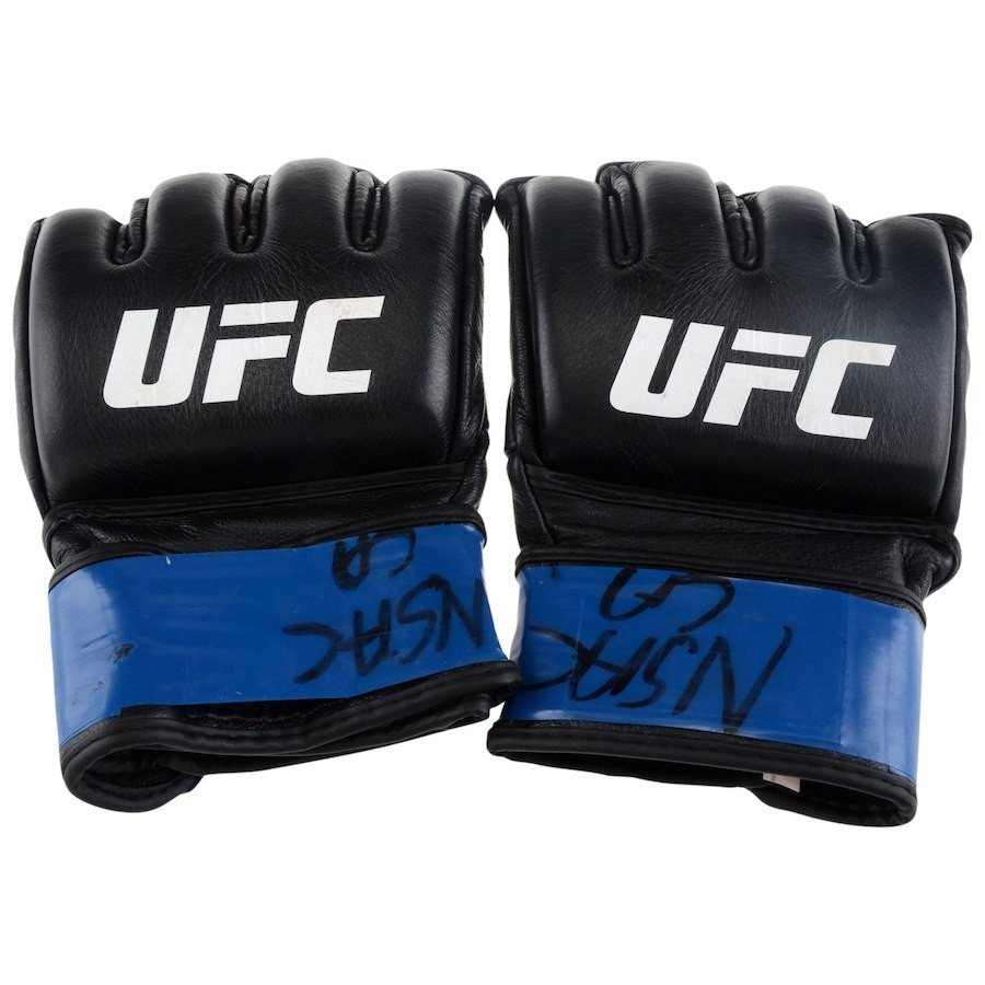 UFC 選手実使用 グローブ ジェラルド メアーシェーアート UFC 213 Romero vs Whittaker