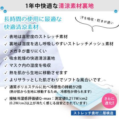 マスク 日本製 色付き 全7色 耳が痛くならない 科学のマスク 日本製 洗える 布マスク 洗濯30回も抗菌・抗ウイルス効果が続く 小さい 大きい CONOMi  涼しい|conomi|14