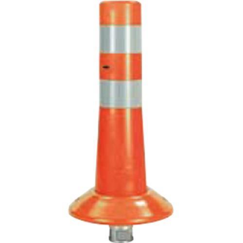 メーカー直送 メーカー直送 メーカー直送 サンポール ガードコーン φ80,台座径φ200×H400mm カラー:オレンジ [RBK-40(R)] 5e3